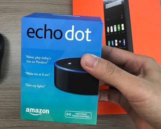 Đánh giá Amazon Echo Dot 2016