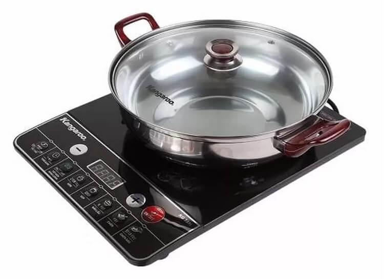Dòng bếp giá rẻ KG351i tặng nồi nấu