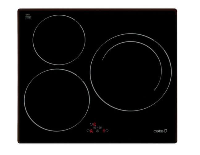 Dòng Cata I603B này nấu hơn khó chịu vì các bếp nấu quá sát nhau