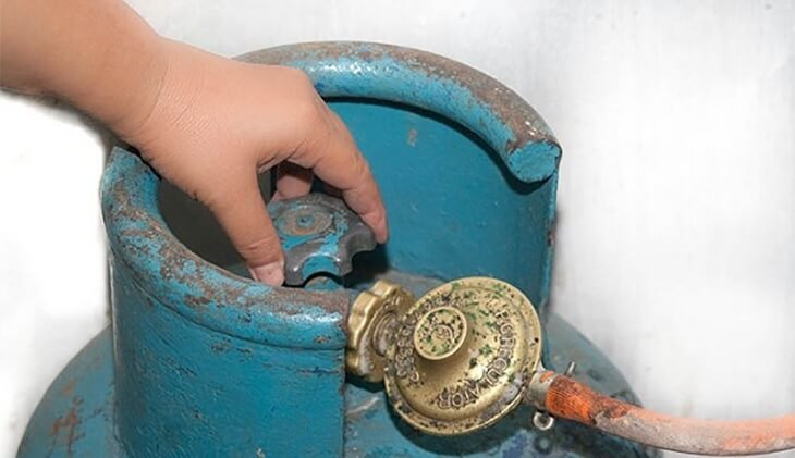 Bình gas cũ thường dễ bị rò rỉ gas