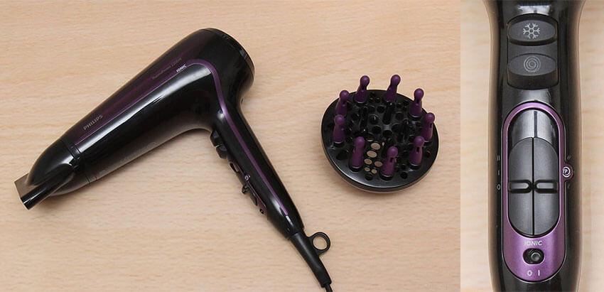 Máy sấy tóc Philips HP8233 đa năng