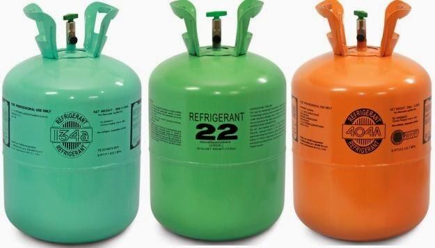 Gas điều hòa có nhiều loại khác nhau