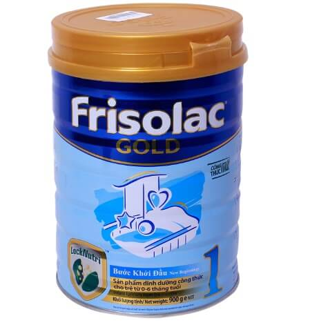 Sữa Frisolac Gold số 1 - cho bé từ 0-6 tháng