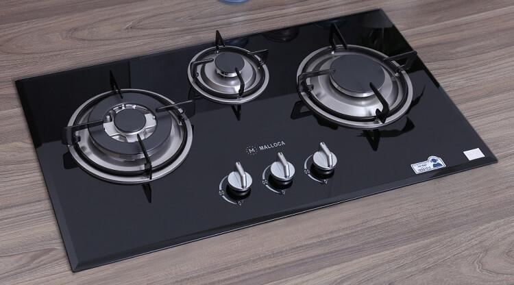 Bếp ga âm có các loại 2 và 3 bếp nấu