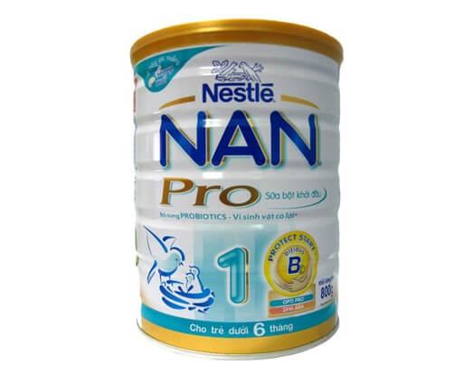 Sữa NAN Nga được ưa chuộng hơn NAN Việt