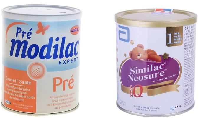 Sữa đặc biệt cho bé sinh non thiếu tháng