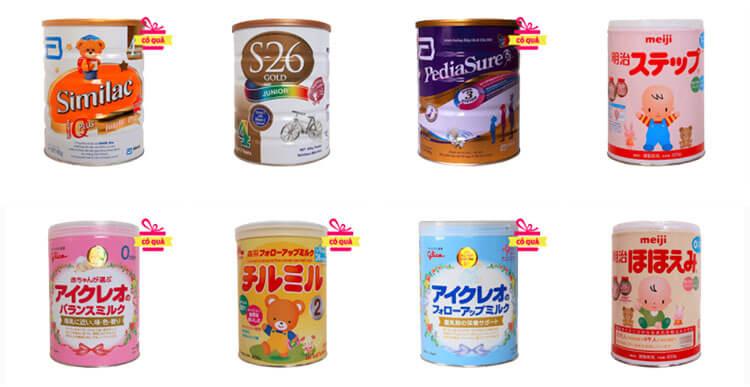 Sữa nào tốt cho trẻ sơ sinh nhất?