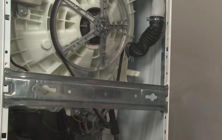 Máy giặt sử dụng dây curoa dẫn động