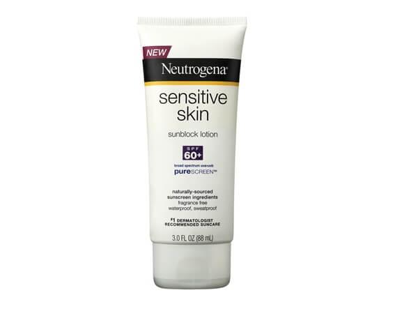 Kem chống nắng Neutrogena Sensitive Skin Sunscreen Lotion SPF 60