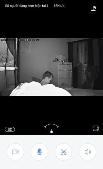 Chất lượng quay ban đêm của Camera YooSee HD720