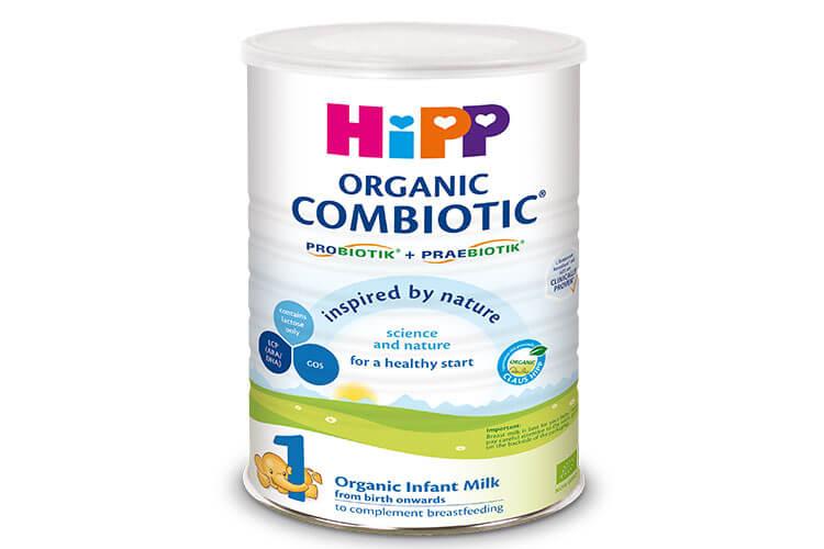 Sữa bột HiPP hữu cơ Organic Combiotic số 1