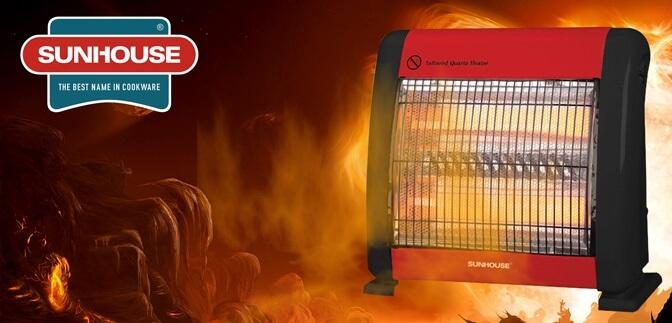 Đèn sưởi hồng ngoại tốt hơn đèn sưởi Halogen và quạt sưởi (điện trở)
