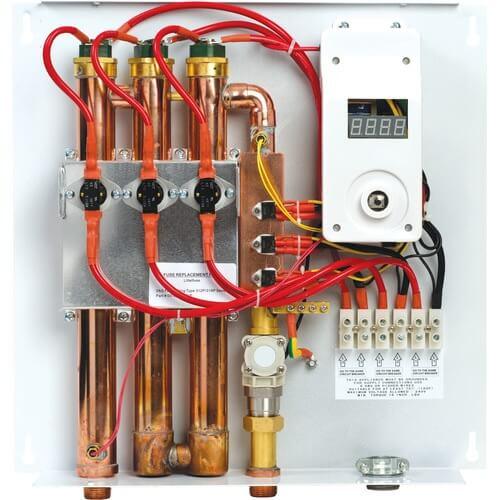 Các điện trở làm nóng ống kim loại ở nhiệt độ cao cung cấp nước nóng trực tiếp