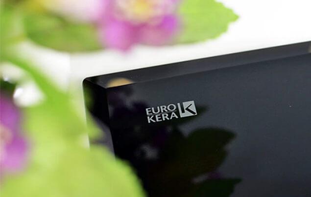 Mặt kính Euro Kera cao cấp ở bếp từ Electrolux