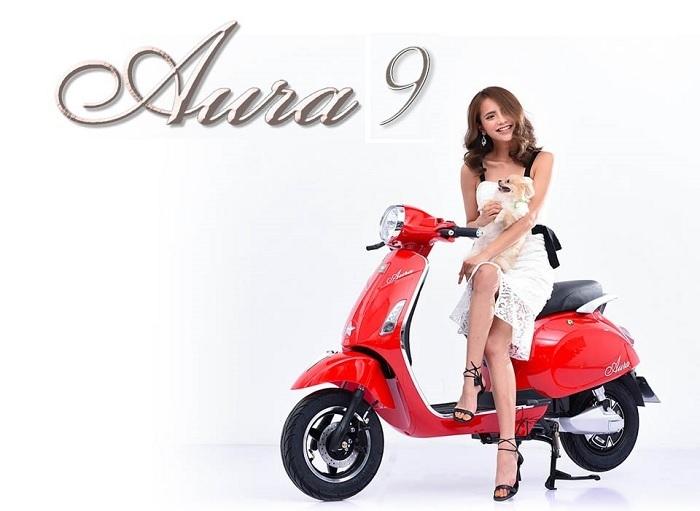 Xe máy điện Aura 9 của Pega