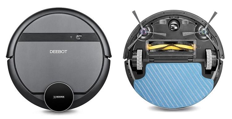 Robot Hút Bụi Lau Nhà Ecovacs deebot DE55