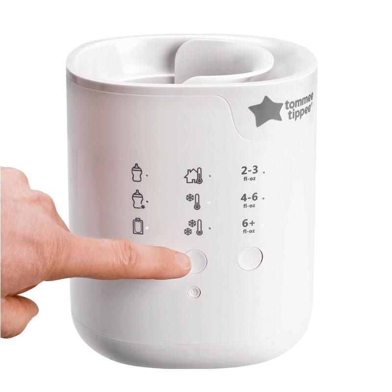 Máy hâm sữa có chức năng chọn tự động nhiệt độ và đèn báo tắt tự động