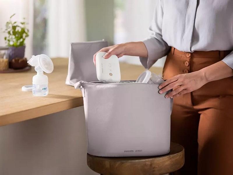 Máy hút sữa giúp việc chăm con thuận tiện hơn