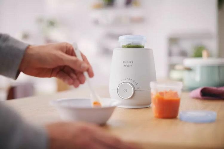 Bạn có thể sử dụng máy hâm sữa để hâm nóng thức ăn dễ dàng